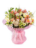 La source fleurit le bouquet Photo stock