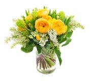 La source fleurit le bouquet Photo libre de droits