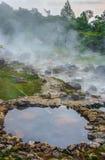 La source thermale chez Chae Son National Park Photographie stock libre de droits