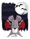 La souris de vampire Image stock