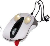 La souris gaie d'ordinateur illustration libre de droits