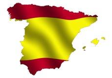 La Spagna illustrazione di stock