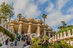 La Spagna - Barcellona Fotografia Stock