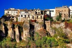 La Spagna, Cuenca Immagine Stock