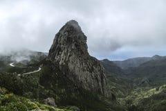 La Spagna, La Gomera, un paradiso di camminata e riserva di biosfera dell'Unesco immagine stock libera da diritti