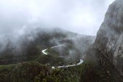 La Spagna, La Gomera, un paradiso di camminata e riserva di biosfera dell'Unesco fotografia stock libera da diritti
