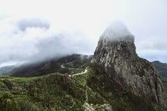 La Spagna, La Gomera, un paradiso di camminata e riserva di biosfera dell'Unesco fotografia stock