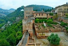 La Spagna Granada Alhambra Generalife (4) fotografia stock libera da diritti