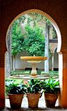 La Spagna Granada Alhambra Generalife (2) fotografia stock