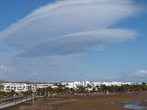 La Spagna, Lanzarote Fotografie Stock