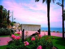La Spagna, Lloret de Mar Fotografia Stock