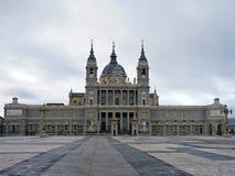 La Spagna, Madrid, il 31 dicembre 2013, visita al palazzo reale, anche chiamato il palazzo dell'Oriente Fotografia Stock Libera da Diritti