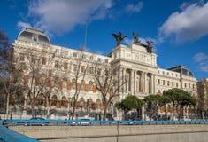 La Spagna. Madrid. Ministero di agricoltura Immagini Stock
