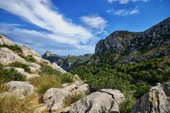 La Spagna Maiorca Cap De Formentor fotografie stock