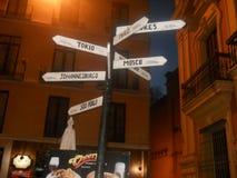 La Spagna Malaga Fotografie Stock Libere da Diritti