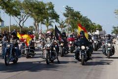 La Spagna - raduno europeo 2015 del MAIALE Fotografie Stock Libere da Diritti