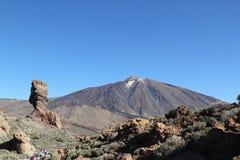 La Spagna, Tenerife, parco nazionale di Teide Fotografia Stock Libera da Diritti