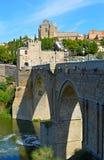 La Spagna Toledo Bridge (2) immagini stock