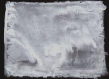 La spazzola bianca dell'acquerello, macchie astratte del pennello, macchia inchiostrata bianca della sporcizia ha schizzato la pi illustrazione vettoriale