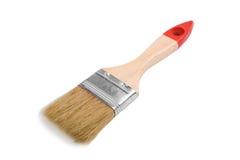 La spazzola ha isolato Fotografia Stock Libera da Diritti