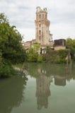 La-specola, de astronomische waarnemer van Padua, Italië stock fotografie