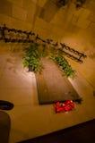 La spectaculaire intérieure Sagrada d'église de Barcelone Photographie stock