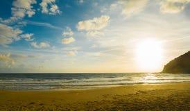 La Speranza-Sonnenuntergang Stockfoto