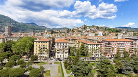 La Spezia city skyline, aerial view on a beautiful day Stock Images