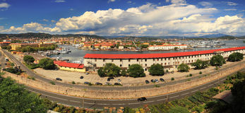 La Spezia - cityscape panoramic view. Royalty Free Stock Photos