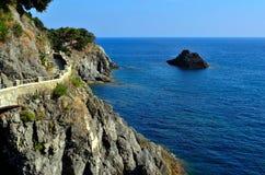 La Spezia del terre del cinque della cavalla di Al di Monterosso Fotografia Stock