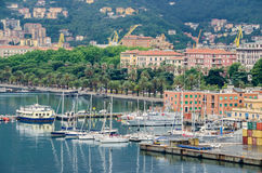 La Spezia Hafen und Morin Stockfoto