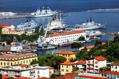La Spezia Harbor Stock Photography