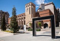 Post Office, Buren arches, La Spezia, Italy Stock Photography