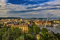 La Spezia, Italy royalty free stock photography