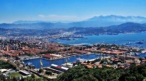 La Spezia, Ligurië, Italië royalty-vrije stock foto's