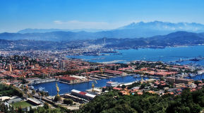 La Spezia, Liguria, Italy Royalty Free Stock Photos