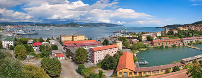 La Spezia panoramic view. Royalty Free Stock Image