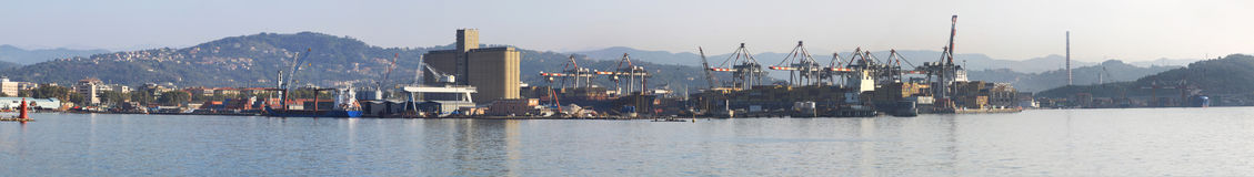 La Spezia port Royalty Free Stock Photography
