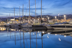 La Spezia port, Cinque Terre, Italy Stock Images