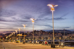 La Spezia port, Cinque Terre, Italy Royalty Free Stock Images
