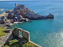 italy coast line old castle Stock Photos