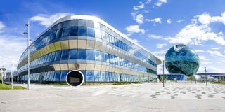 La sphère de Nur Alem Photos stock