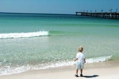 La spiaggia Immagini Stock