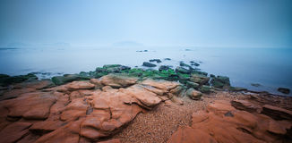 La spiaggia Fotografie Stock Libere da Diritti