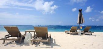 La spiaggia Fotografia Stock
