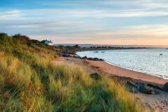 La spiaggia al punto del corvo fotografie stock libere da diritti