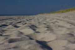 La spiaggia del Mar Baltico Immagini Stock