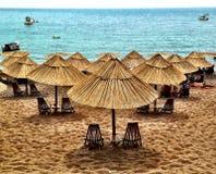 La spiaggia della regina al Montenegro Fotografie Stock