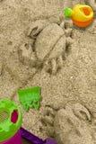 La spiaggia della scultura, Immagine Stock