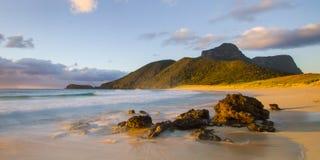 La spiaggia di Blinky Fotografia Stock